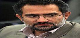 اهدای کیف زنانه با پوست مار به وزیر دولت احمدی نژاد