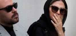 تیپ و پوشش متفاوت بازیگران زن در مراسم تشییع ناصر ملک مطیعی