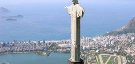 تصویری عجیب از بزرگترین مجسمه مذهبی دنیا