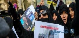 تصاویری از تجمع مردم در مقابل سفارت سوئیس در تهران