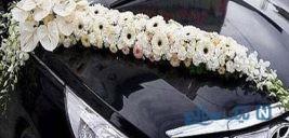 تصویری جالب از عجیب ترین ماشین عروس دنیا