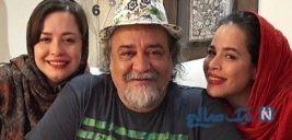 تصویری از سلفی مهراوه و ملیکا شریفی نیا