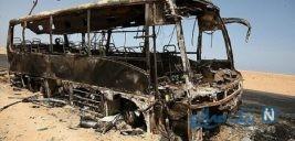 جدیدترین تصاویر از شهدای عملیات تروریستی اتوبوس پرسنل سپاه