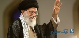 عکسی دیده نشده از رهبر انقلاب در جبهه جنگ ایران و عراق