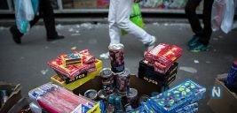 انفجار بساط یک دست فروش ترقه در تهران