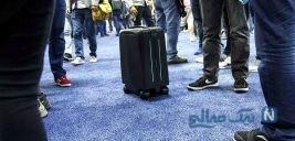 کشف چمدان مشکوک به بمب در سعادت آباد تهران + عکس