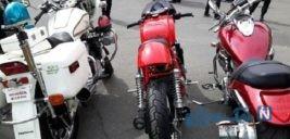 موتورسیکلت سنگین قاچاق به شکل موتورهای پلیس