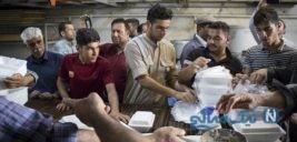 پذیرایی موکب های اربعین از مردم سیل زده خوزستان