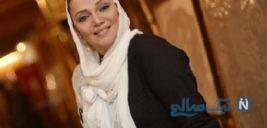 الهام پاوه نژاد بازیگر ایرانی در کنار دو رفیق قدیمی اش