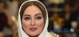 عکس الهام حمیدی بازیگر ایرانی با لباس سنتی