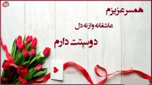 اس ام اس های زیبای عاشقانه برای همسر