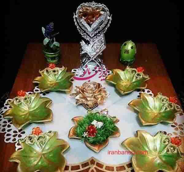 اس ام اس زیبا برای هفت سین عید نوروز