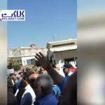 تجمع اعتراضی بازنشستگان کشور مقابل مجلس+فیلم