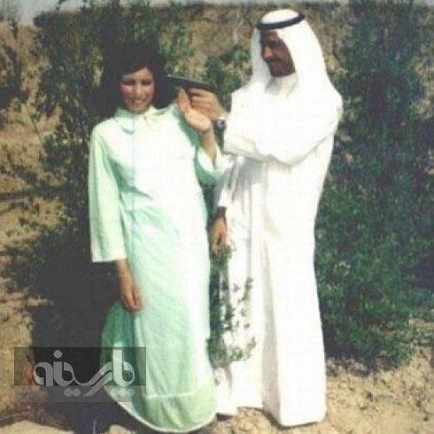 شوخی رومانتیک صدام با همسرش!
