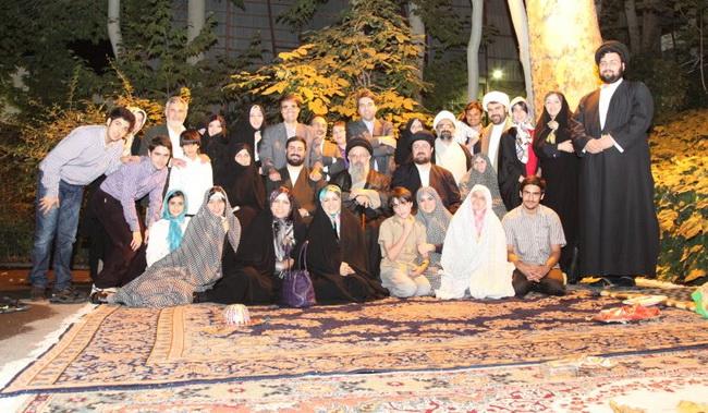 عکس: خانواده امام خمینی در جماران