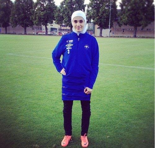 عکس: تنها دختر لژیونر فوتبال ایران