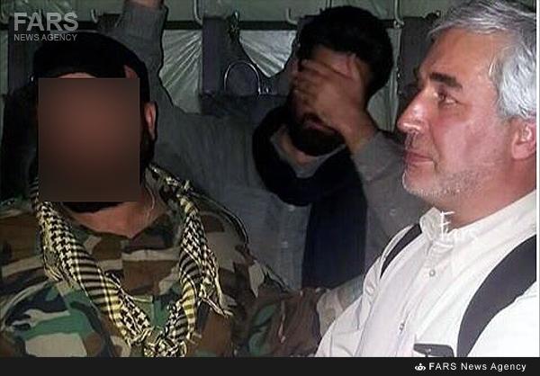 ابراهیم حاتمی کیا در کنار مدافعان حرم!+عکس
