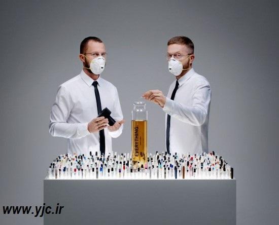 عطری با ۱۴۰۰ بوی متفاوت +عکس