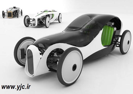 """""""Novague""""، سبزترین خودروی آینده +عکس"""