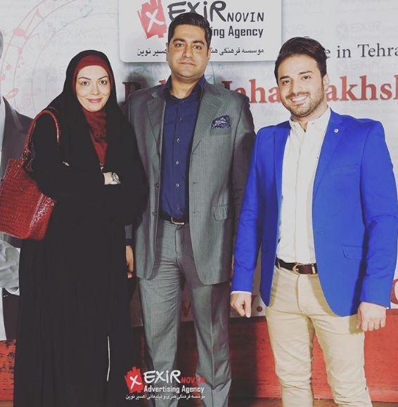 آزاده نامداری و همسرش در کنسرت بابک جهانبخش!+عکس