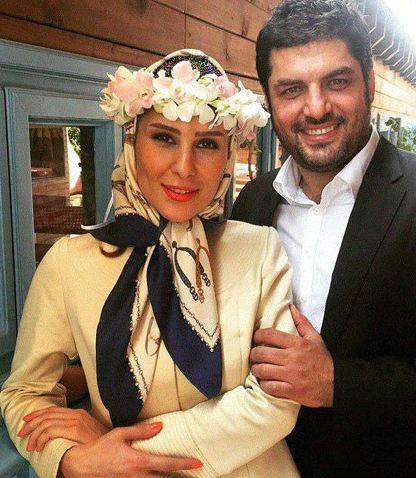 سام درخشانی ازدواج کرد +عکس همسرش