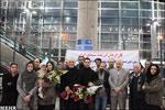 """تصاویر : بازگشت """"اصغر فرهادی"""" و هنرمندان همراه از برلین"""