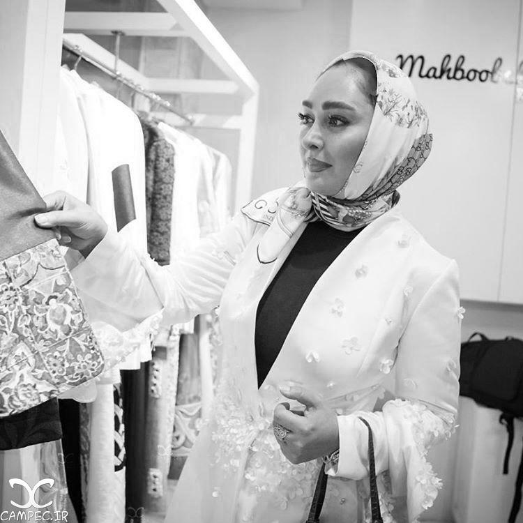 الهام حمیدی و شیلا خداداد در مراسم افتتاحیه بوتیک رسمی آتلیه طراحی مد!+تصاویر