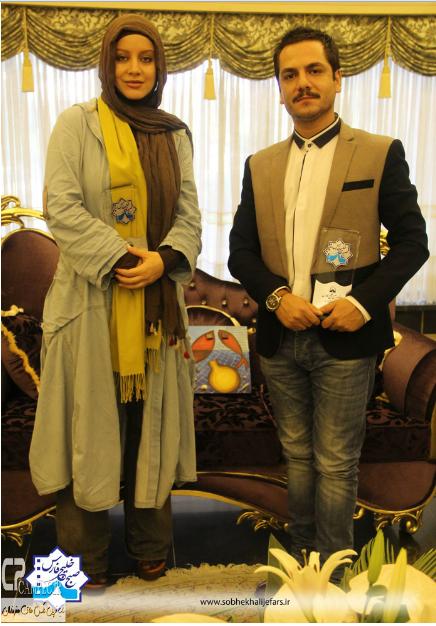 عباس غزالی و شراره رخام+عکس