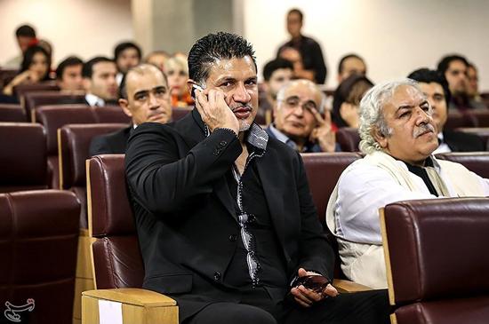 علی دایی در کنار رسول نجفیان/ عکس