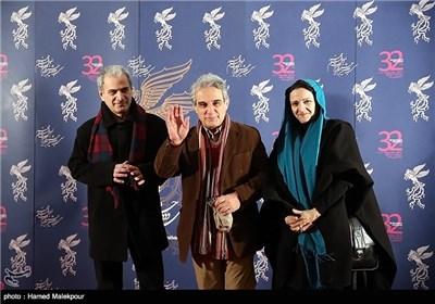 مهدی هاشمی و همسرش در مراسم جشنواره فیلم فجر + عکس