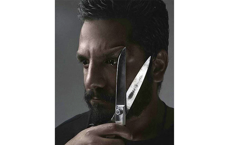 نمایی وحشتناک از عباس غزالی!+عکس
