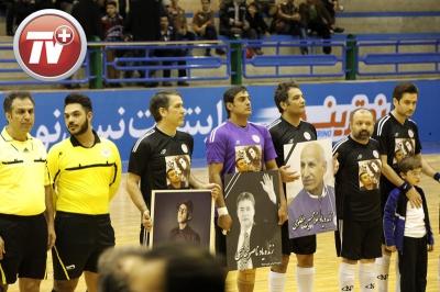 تصاویری از شب فوتبالی ستاره ها به یاد مرتضی پاشایی، مجید بهرامی و ناصر حجازی