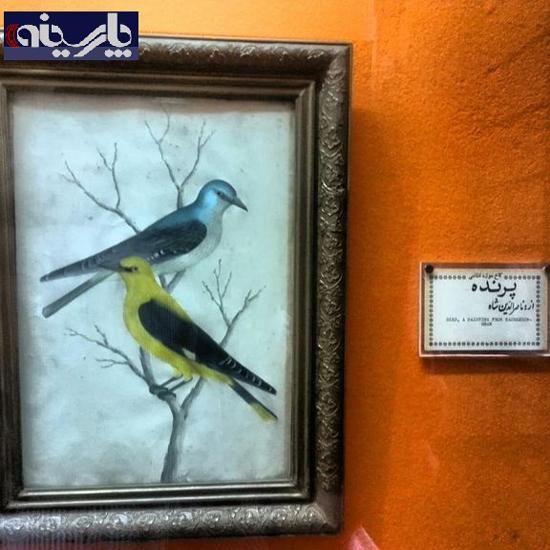 عکس/ نقاشی دیده نشده از شاه قاجار