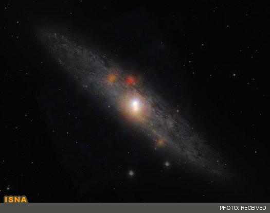 خواب قیلوله یک سیاهچاله! +عکس