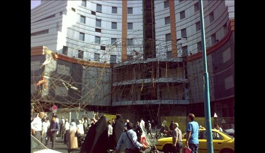 گزارش تصویری حادثه مرگبار خیابان میرداماد