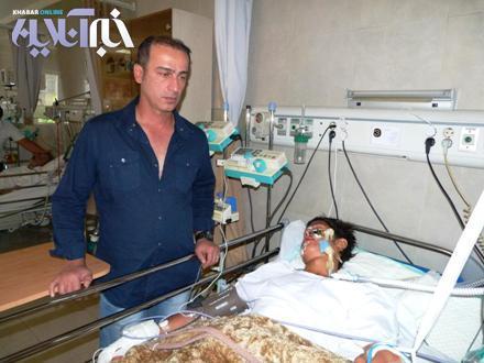 پسر مربی پرسپولیس از کوه سقوط کرد + عکس