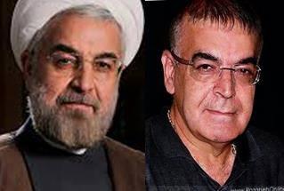 شباهت جالب بازیگر قدیمی سینما با روحانی/عکس
