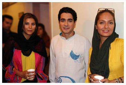 دو بازیگر زن مشهور در کنار شجریان+ عکس