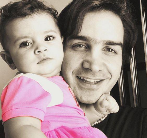 عکسهایی از محسن یگانه و دخترش به مناسبت تولد نگاه+تصاویر