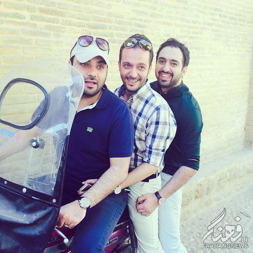 موتورسواری مجری تلویزیون +عکس