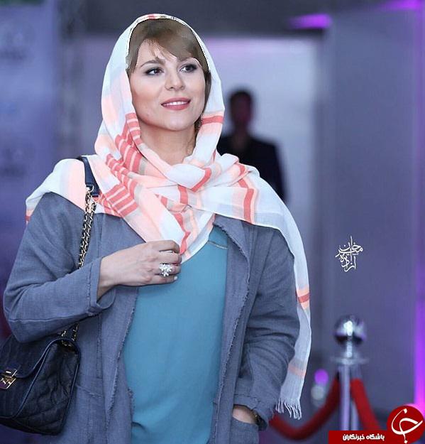 تیپ متفاوت سحردولتشاهی در اکران بارکد!+تصاویر