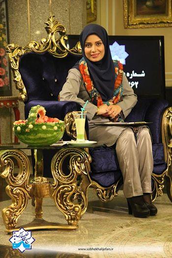 تصویر مجری معروف در خلیج فارس+عکس