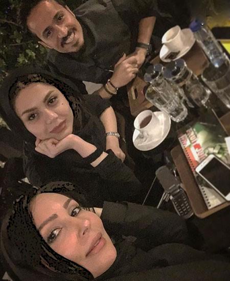 پرستو صالحی بر سر مزار خواننده مشهور و خوش صدا+تصاویر