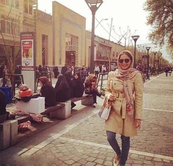 الناز شاکردوست در بازار تهران +عکس