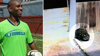 فوتبالیستی که سر خود را از دست داد/عکس
