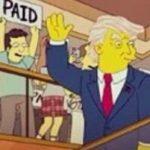 کارتون سیمپسون ها پیش بینی ریاست جمهوری ترامپ را کرده بود؟!+عکس