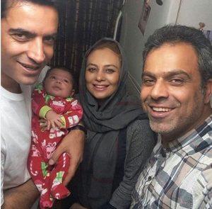 یکتا ناصر و دخترش