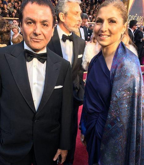 اصغر فرهادی کارگردان فیلم فروشنده و دریافت دومین جایزه ...