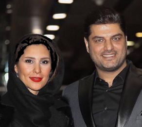 سام درخشانی و همسرش عسل امیرپور در جشنواره فیلم فجر!+تصاویر