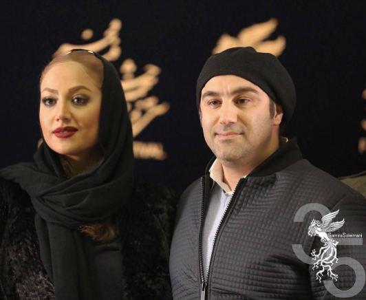 محسن تنابنده و همسرش در کاخ جشنواره سی و پنجم فیلم فجر!+تصاویر
